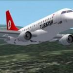 Aeroplani turk ulet në Stamboll pas kërcënimeve