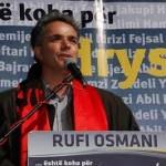 Pengesa për regjistrimin e partisë Rufi Osmanit