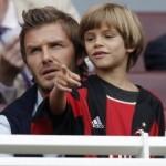 Djali i David Beckham, tifoz i Arsenait