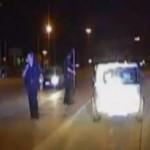 Polici hero shpëton një grua nga aksidenti (VIDEO)