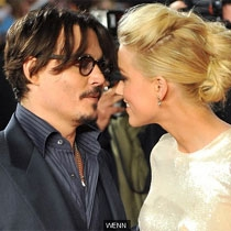 Johnny Depp dhe Amber Heard