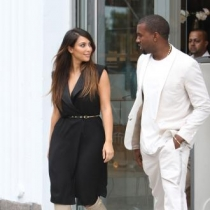 Kim Kardashian dhe Kanye West