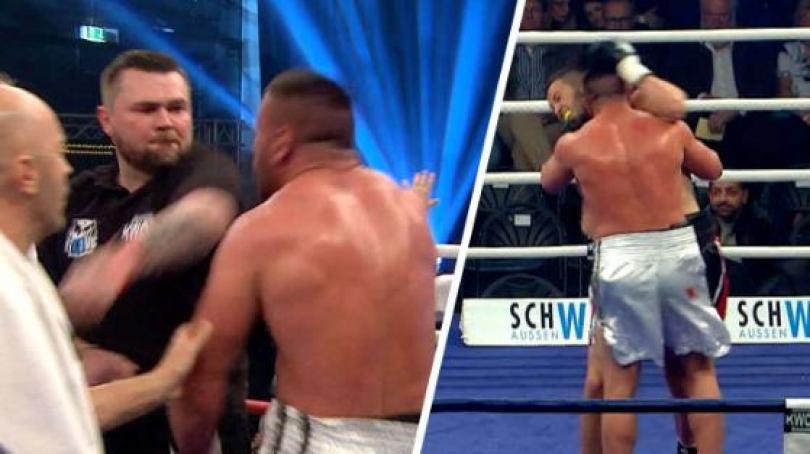 Photo of Boksieri shqiptar fyhet në baza etnike, kafshon në ring kundërshtarin serb (VIDEO)
