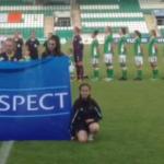 """Vjollca Izeiri në Dublin e referoi ndeshjen kualifikuese për """"Euro 2017"""" midis Irlandës dhe Malit të Zi"""