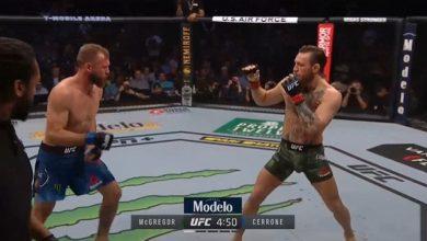 Photo of Momenti kur Conor McGregor e nokauton në raundin e parë Donald Cerrone (VIDEO)